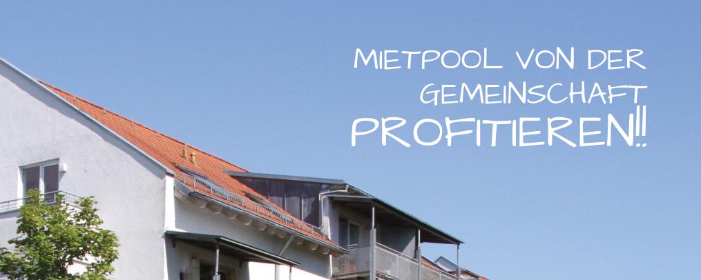Mietpool - Gemeinsam zum Ziel