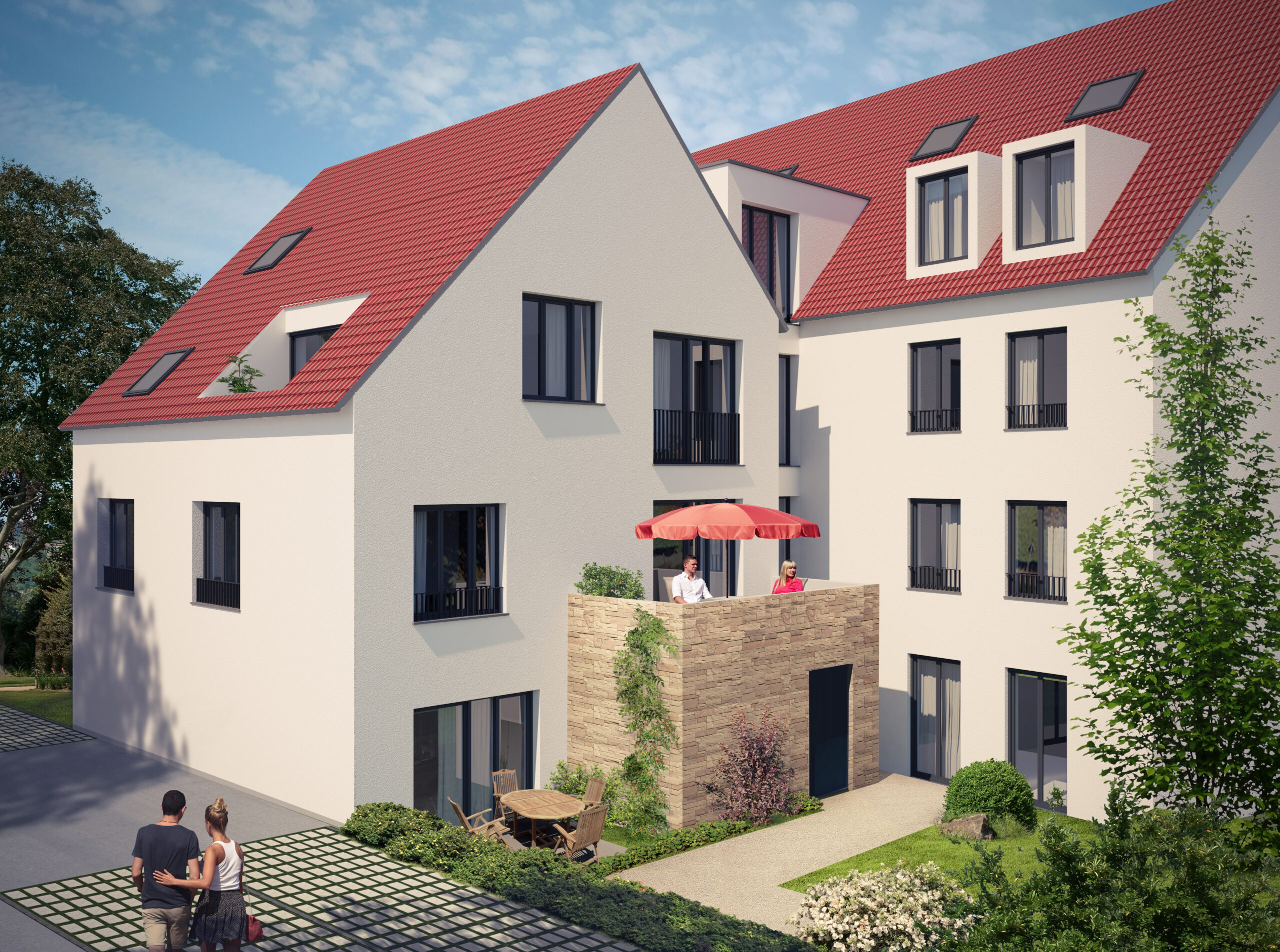 Sachsenheim Neubau Grabenstraáe NW